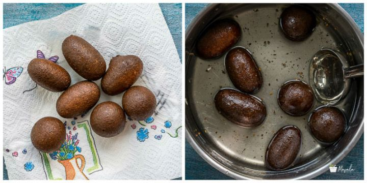 Black Gulab Jamun Recipe, How to make Kala Jamun