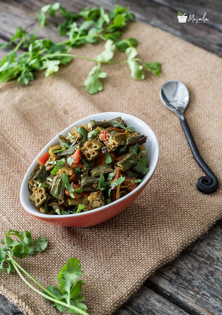 Bhindi Tamatar Recipe