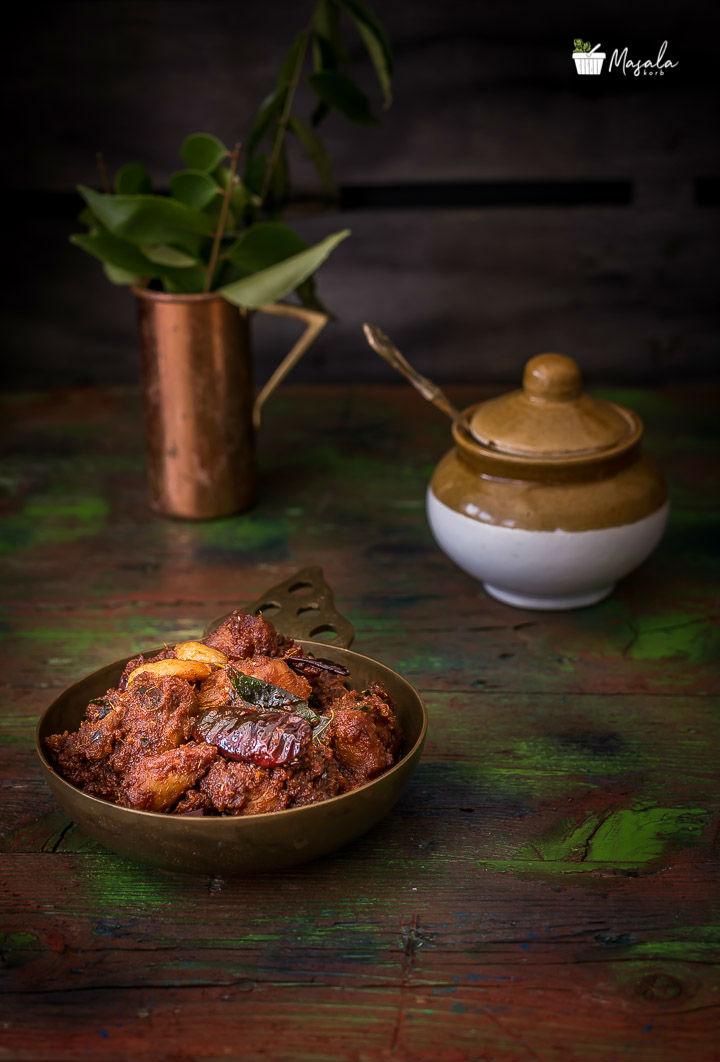Chicken Pachadi Recipe