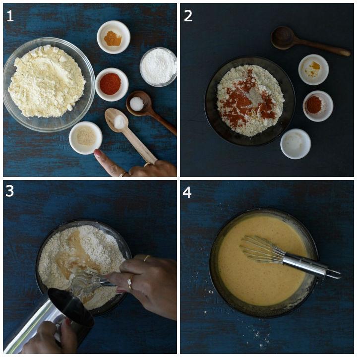 kara boondi batter making