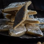 Cashew Katli stacked