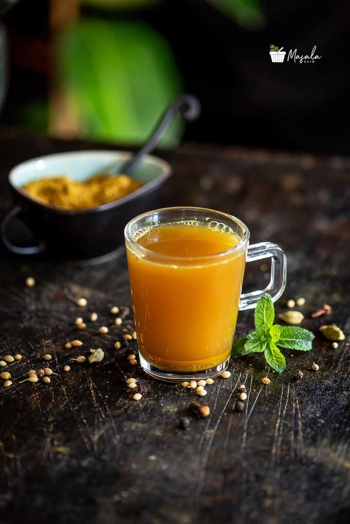 homemade Kashayam recipe for cold and cough
