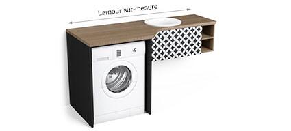 Meuble Lave Linge Pour Salle De Bains M5 0