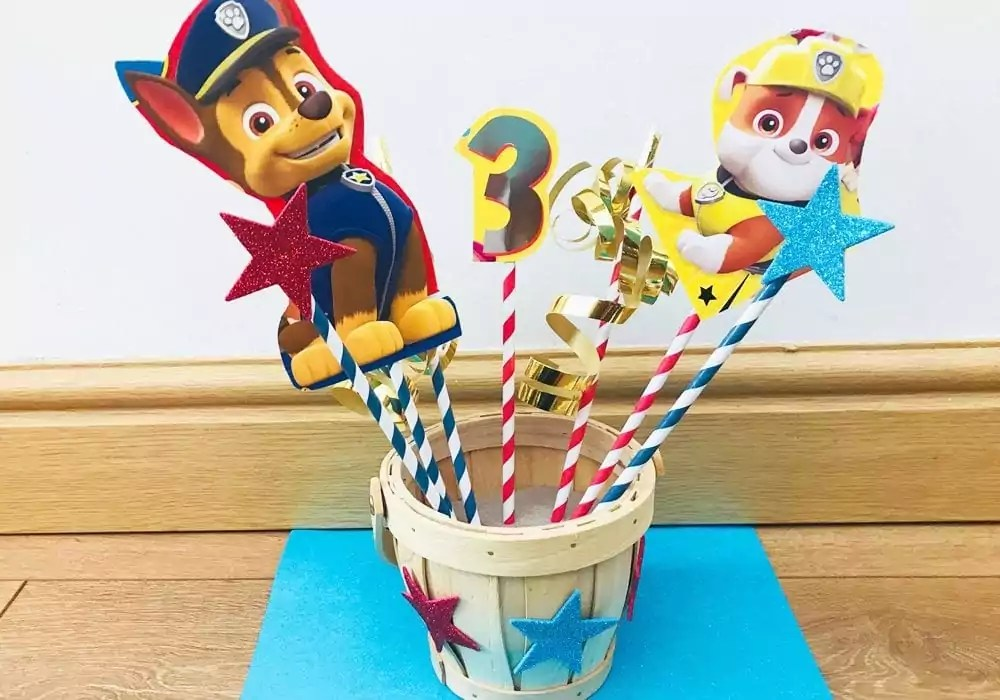 paw patrol party decorations