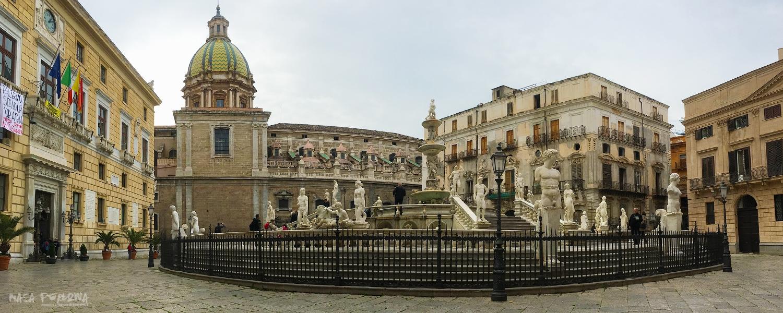 Palermo fontana wstydu