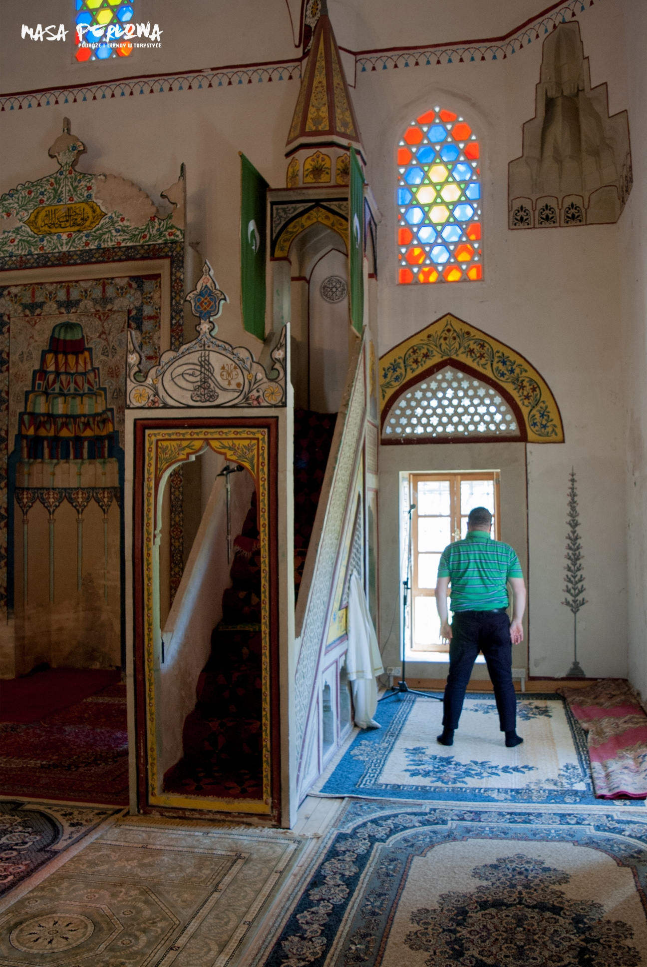 Mostar meczet Koski Mehmed-Paszy modlitwa