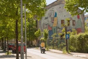 Mostar mural słoń