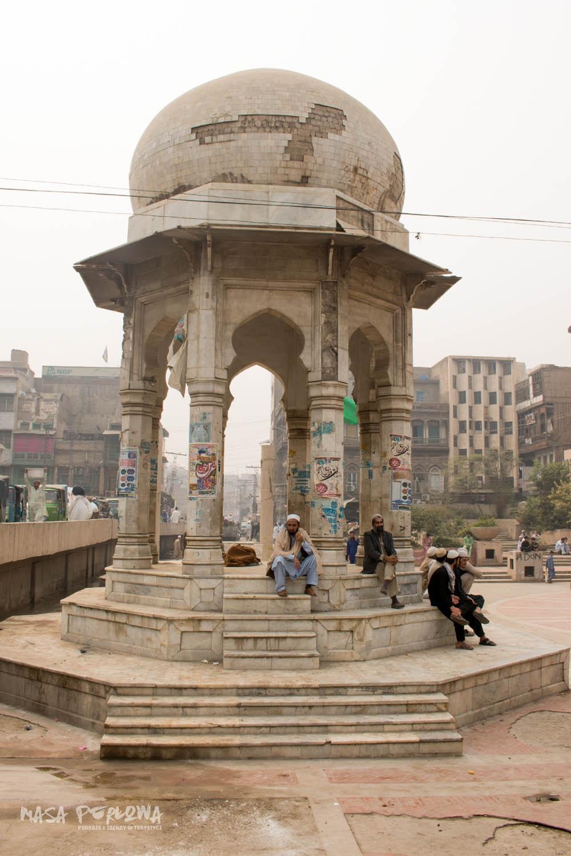 Peszawar Chowk Yadgar Pakistan Stare miasto