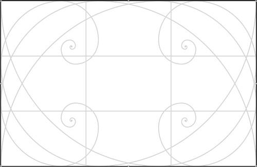 Spirali auree e regola dei terzi