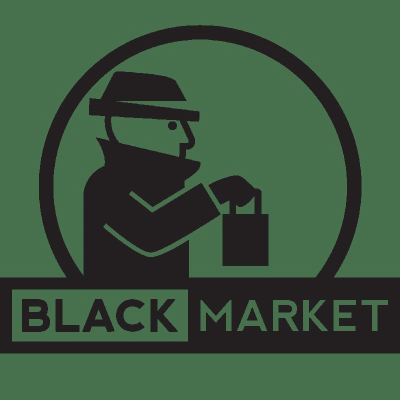 penjelasan black market