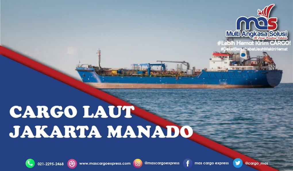 cargo laut jakarta manado