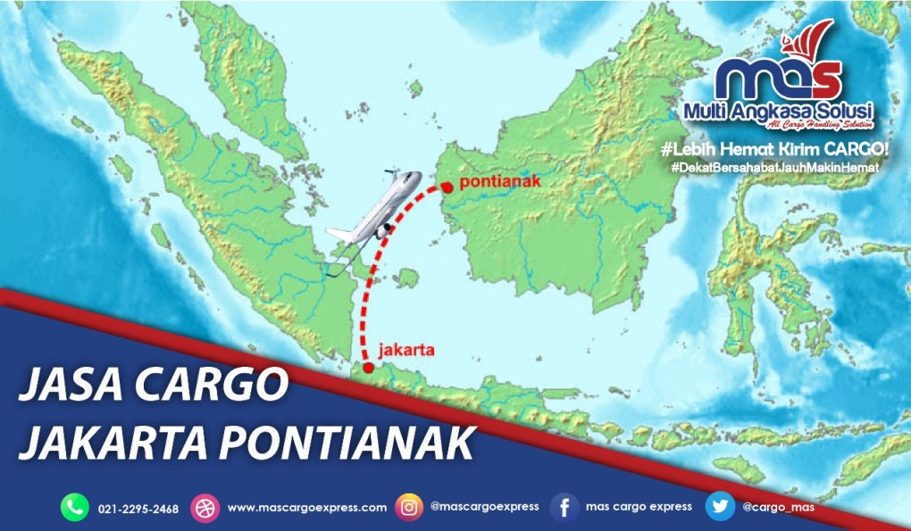 Jasa Cargo Jakarta Pontianak
