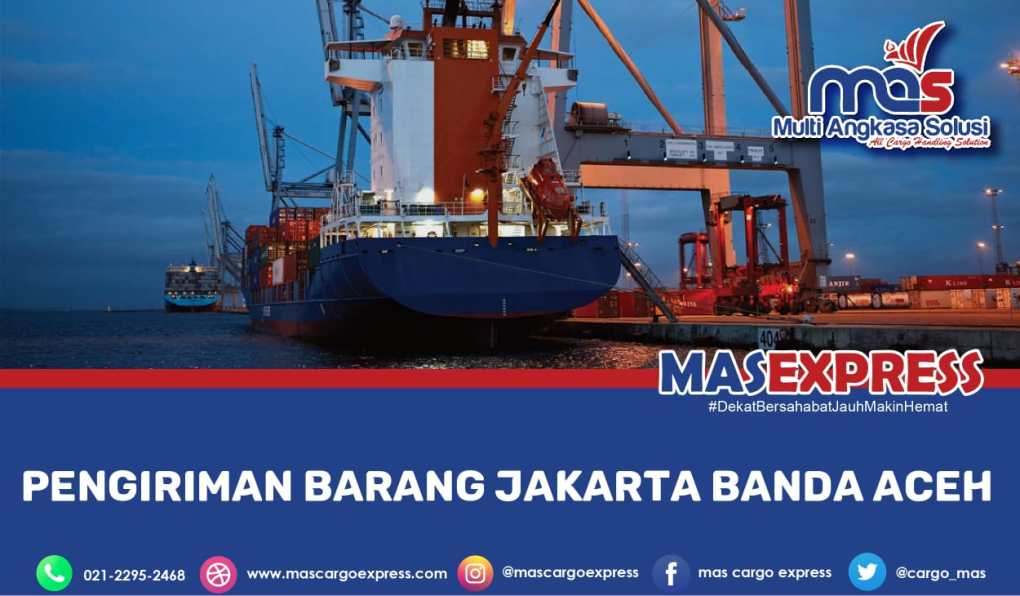 Pengiriman Barang Jakarta Banda Aceh