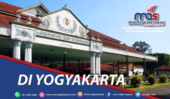 Pengiriman barang jakarta-DI Yogyakarta