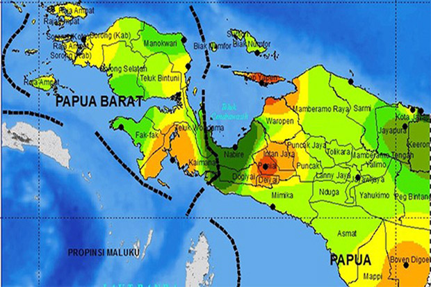 Daftar Kota di Provinsi Papua Barat