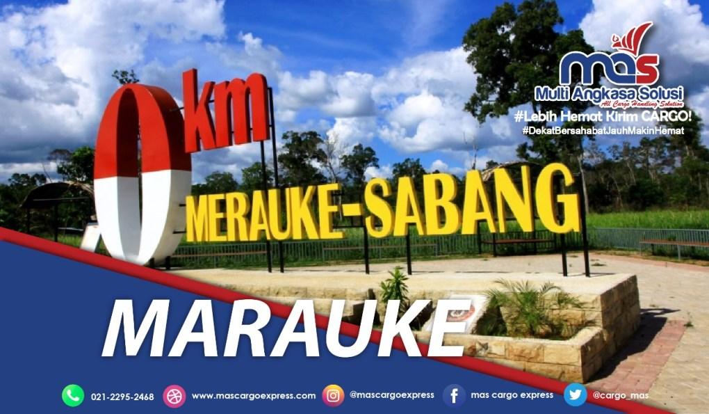 Pengiriman Barang Jakarta-Merauke terbaik