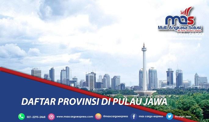 Daftar Provinsi di Pulau Jawa