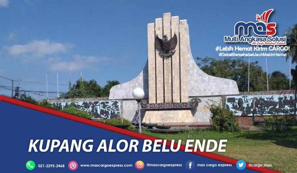 Jasa dan Tarif Ekspedisi Kupang Alor Belu Ende Murah