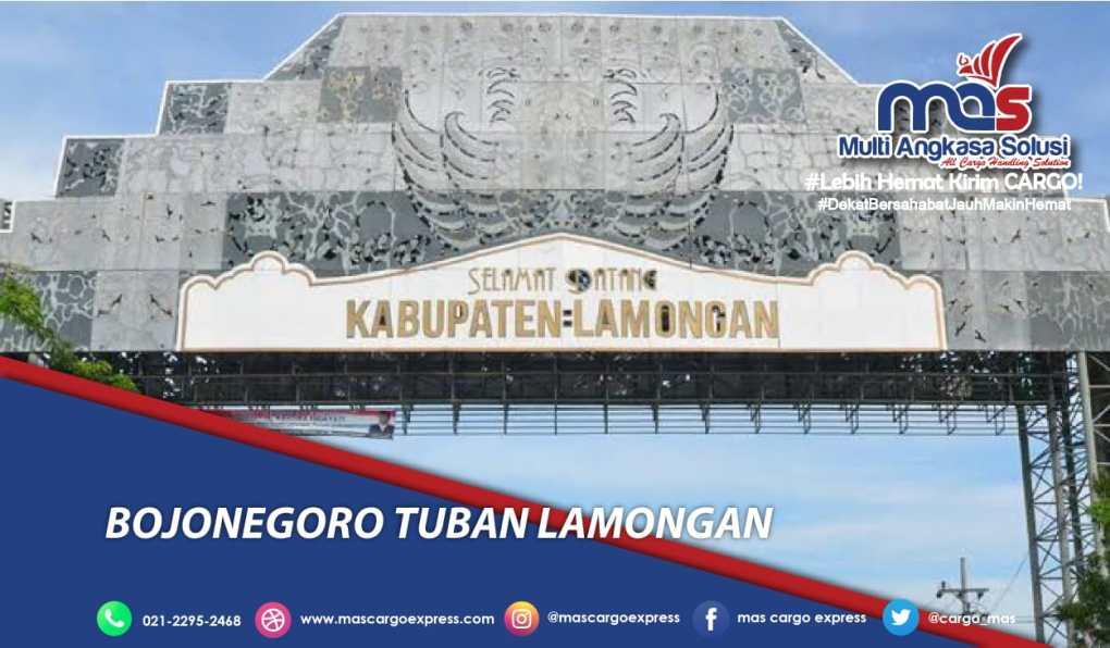 Jasa dan Tarif Ekspedisi Bojonegoro Tuban Lamongan Murah