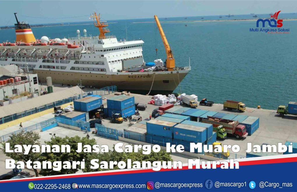 Jasa dan Tarif Ekspedisi Muaro Jambi Batangari Sarolangun