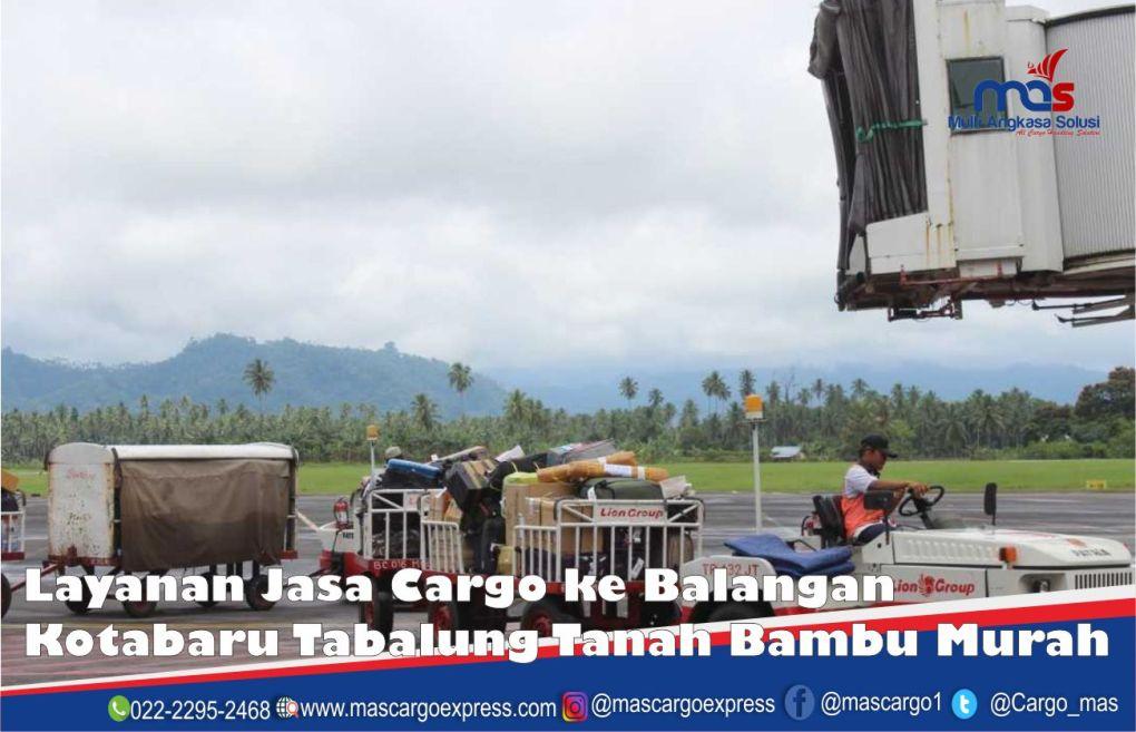 Jasa dan Tarif Ekspedisi Balangan Kotabaru Tabalung Tanah Bambu