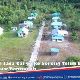 Jasa dan Tarif Ekspedisi Sorong Teluk Bintuni Tambrauw