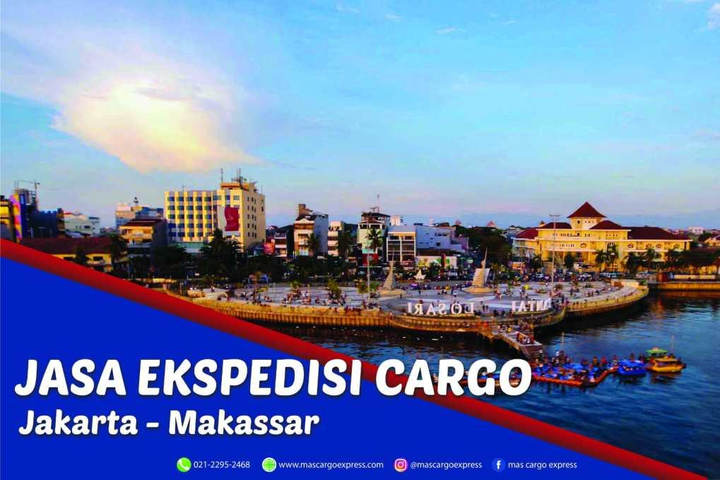 Jasa Ekspedisi Cargo Jakarta ke Makassar