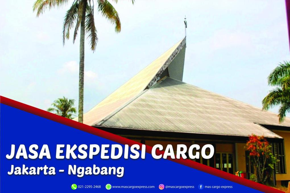 Jasa Ekspedisi Cargo Jakarta ke Ngabang Murah, Cepat, Aman dan Bergaransi