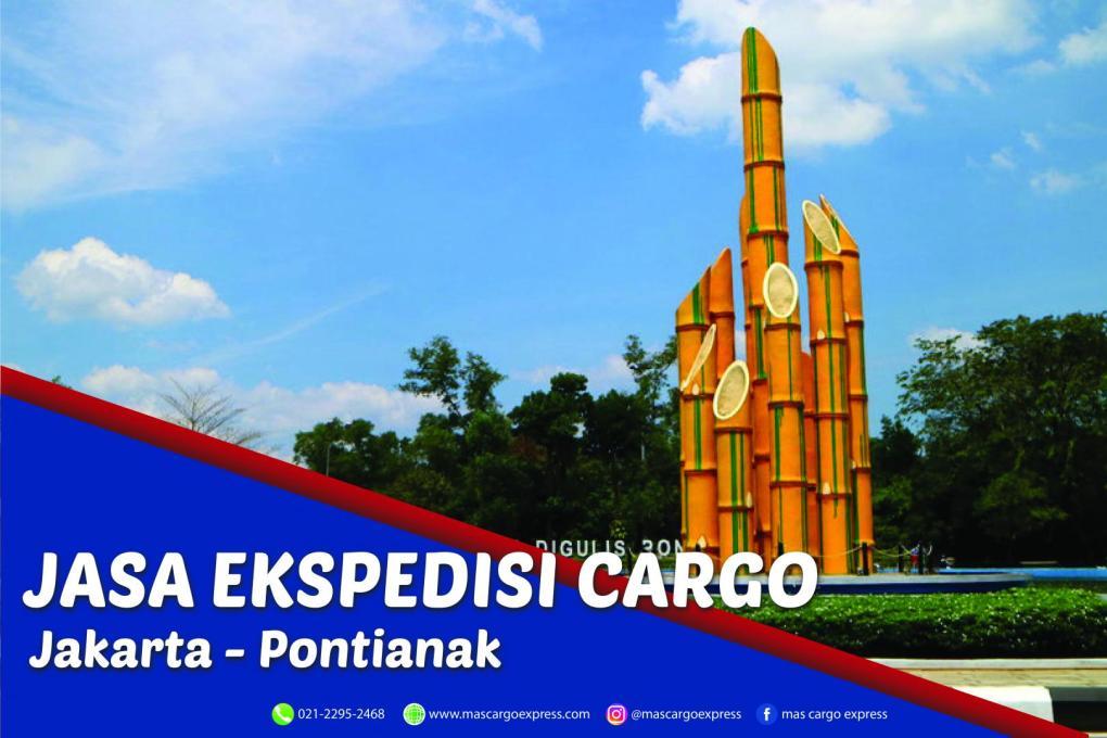Jasa Ekspedisi Cargo Jakarta ke Pontianak Murah, Cepat, Aman dan Bergaransi