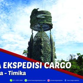 Jasa Ekspedisi Cargo Jakarta ke Timika Murah, Cepat, Aman & Bergaransi