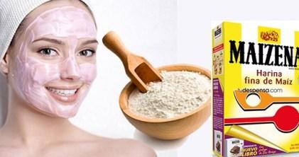 mascarilla efecto botox maicena
