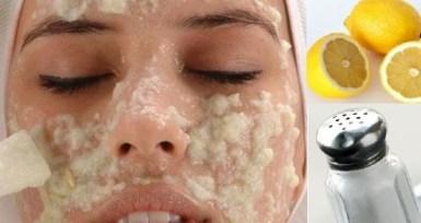 mascarilla exfoliante para la cara