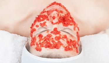 Mascarilla de tomate y leche