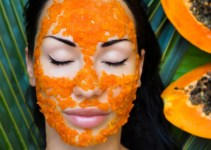Mascarilla de semillas de papaya