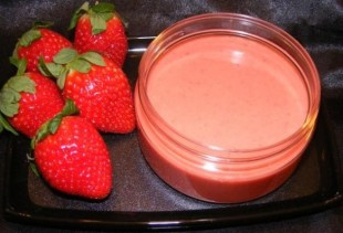mascarilla de fresa para el acne