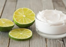 Mascarilla de yogurt y limón