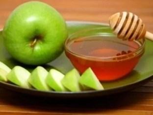mascarilla de manzana