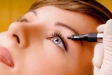 Delineado Permanente de Ojos Cuidados