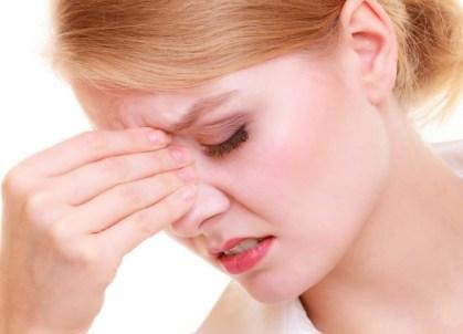 herpes en la nariz