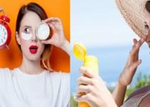 Primero la crema hidratante o el protector solar