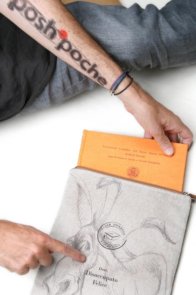 Posh-poche personalizzabile con i propri disegni o foto