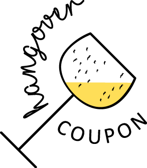 hangover coupon - testo bloccato