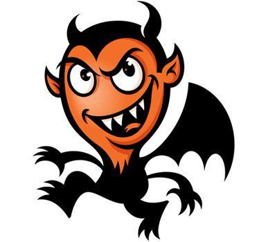 Image result for black devil cartoon