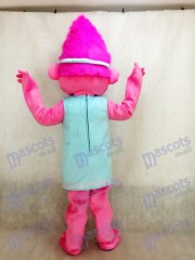 trolls baby poppy girl with pink