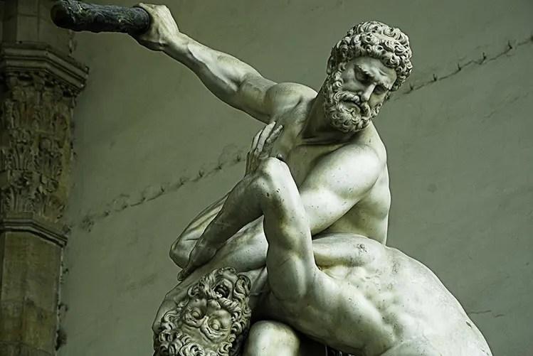 greek statue alpha male
