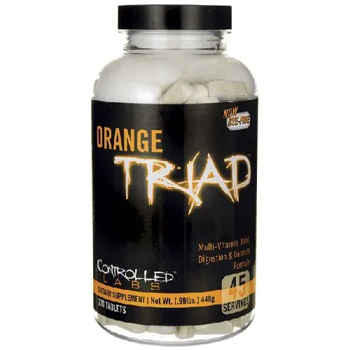 best multivitamin for bodybuilders orange triad