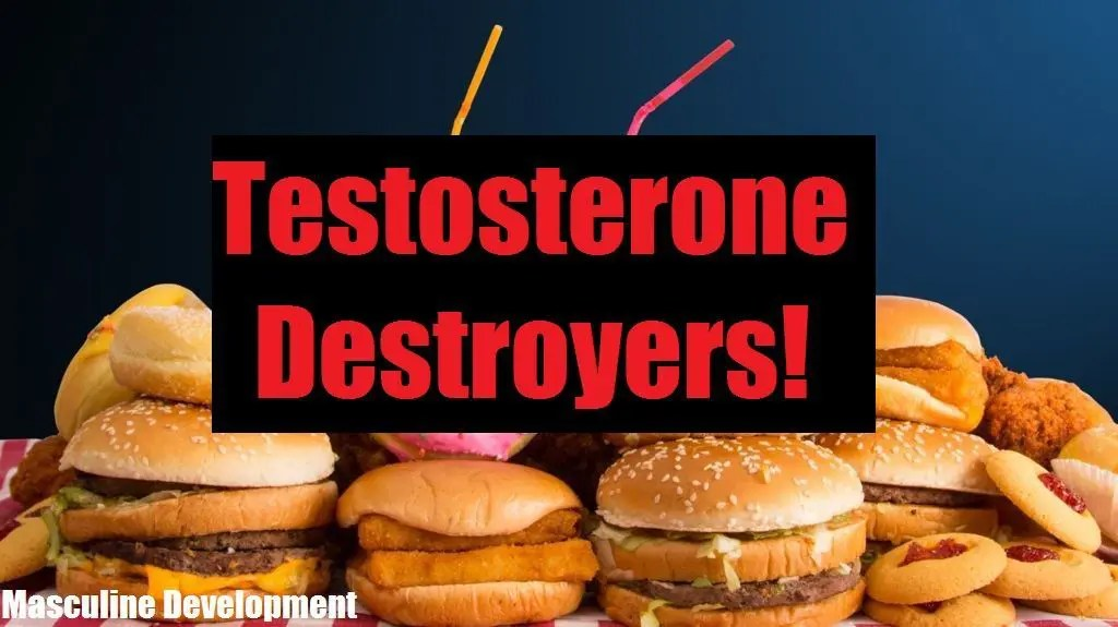 Top 5 Foods That Absolutely DESTROY Your Testosterone