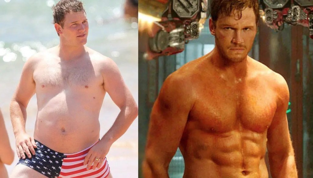 chris pratt workout guardians of the galaxy workout