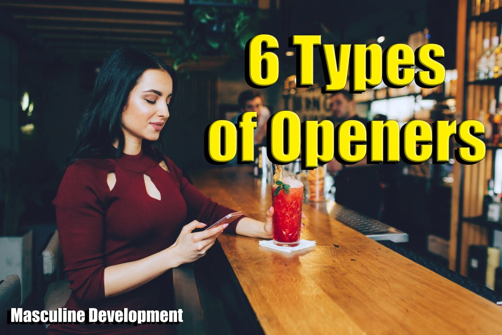 Types of Openers Pickup lines