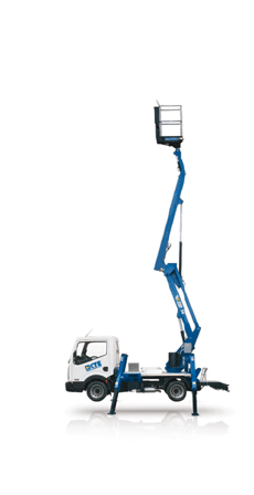 Truck-mounted Articulated Work Platforms read more about